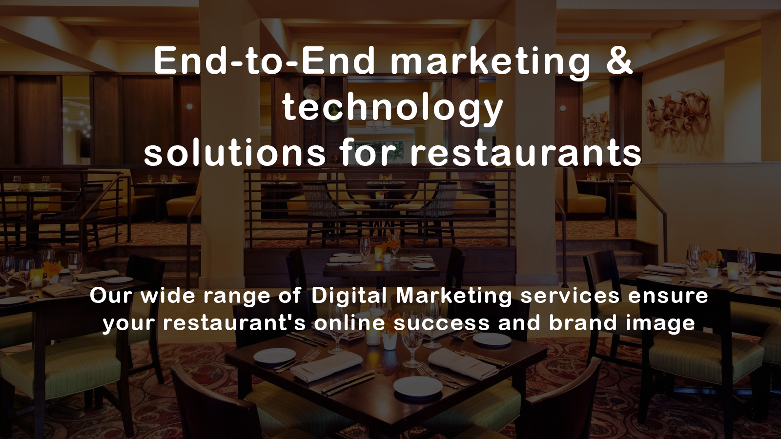 restaurant website development company delhi